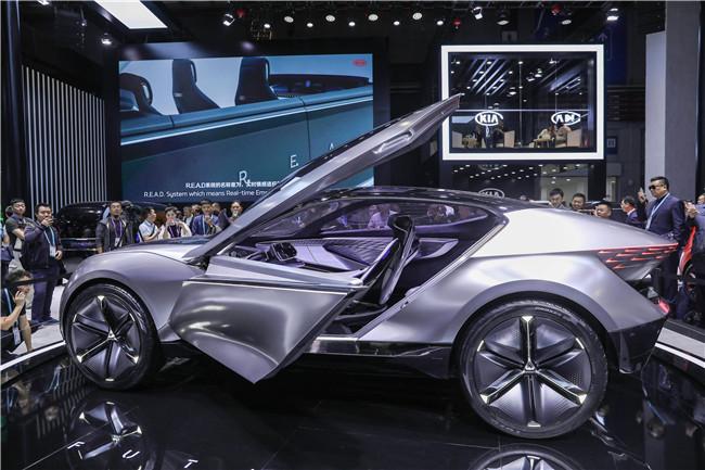 起亞FUTURON概念車全球首發引領未來設計理念