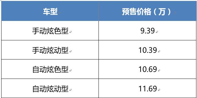 预售价9.39万元起 长安CS55PLUS将于广州车展上市