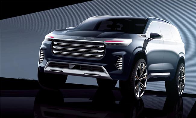 全球首發在即  EXEED星途VX Concept Car設計草圖曝光